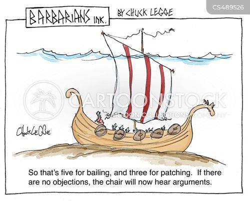 sunken ship cartoon