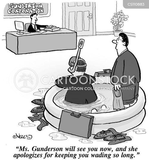 wader cartoon