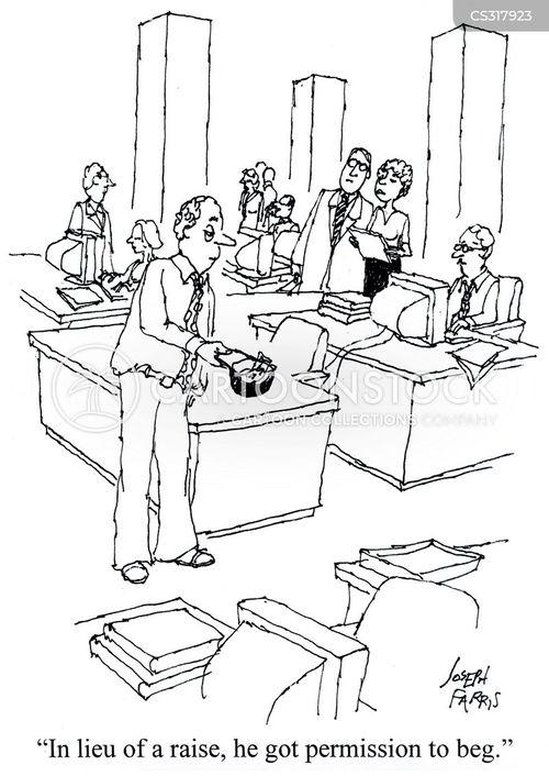 salary increases cartoon