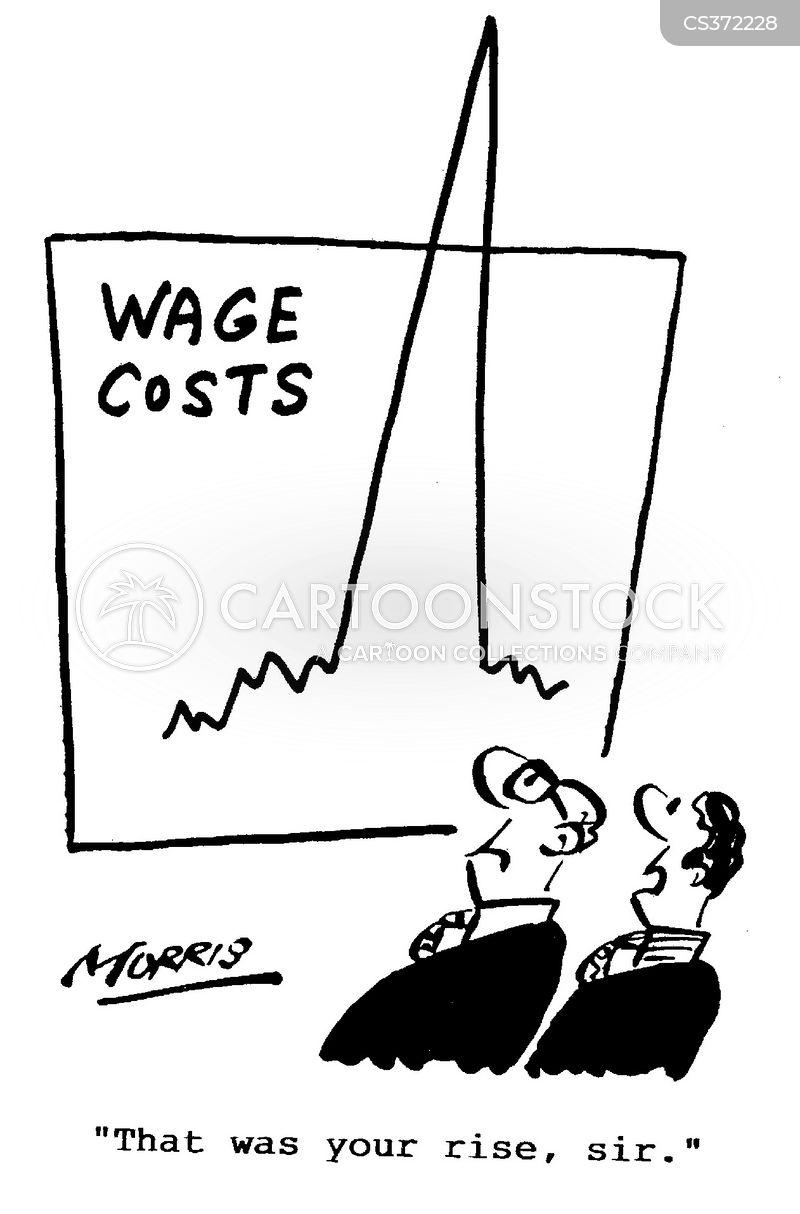 wage costs cartoon