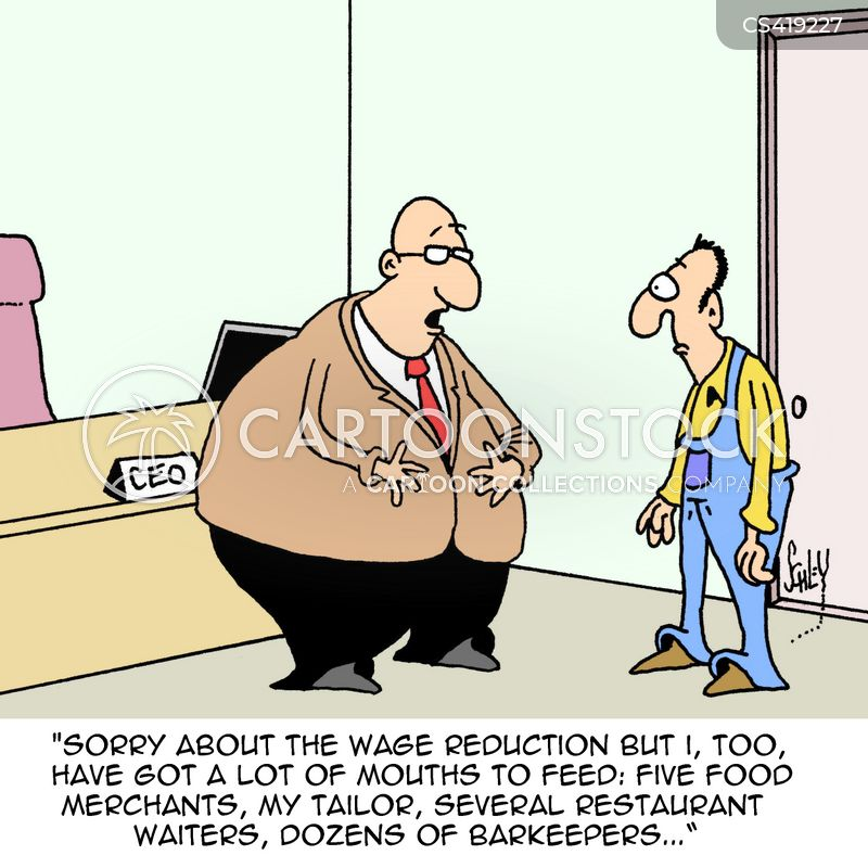 Income Reduction Cartoons And Comics Funny Pictures From Cartoonstock