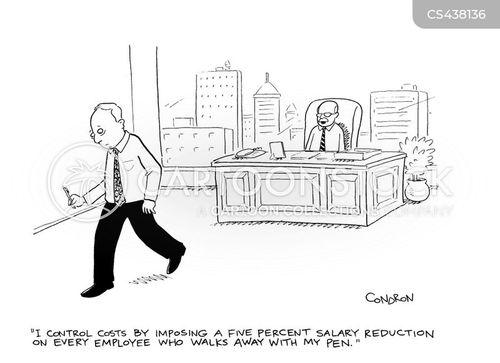 cost reduction cartoon