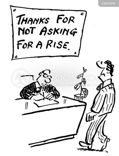 wage director cartoon