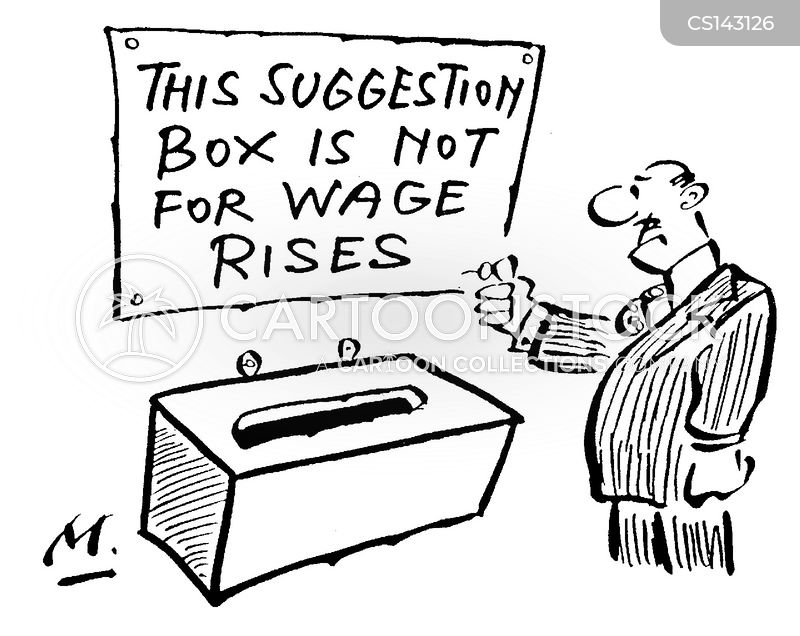 wage rise cartoon