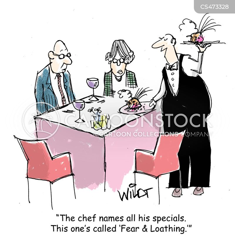 Restaurant Kitchen Cartoons and Comics - funny pictures from