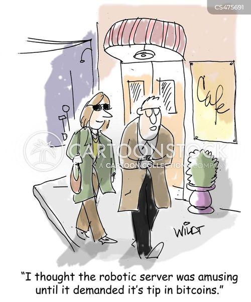 gimmicky cartoon