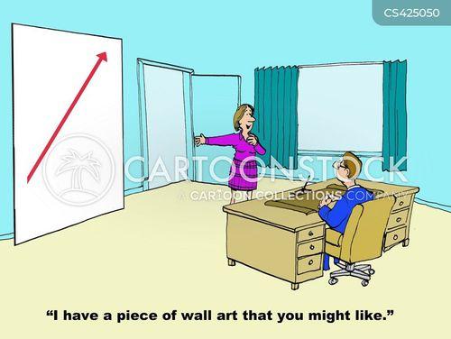 wall art cartoon