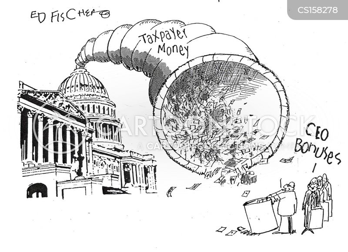us stocks cartoon