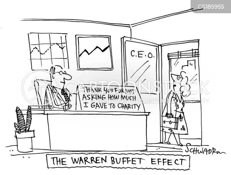warren buffet cartoon