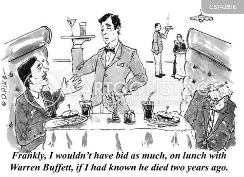 financial gurus cartoon