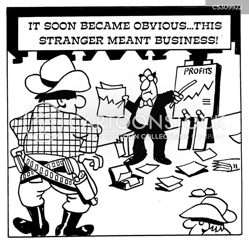Meaning Business Cartoons and Comics - funny pictures from