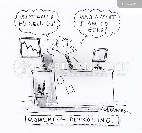 reckoning cartoon