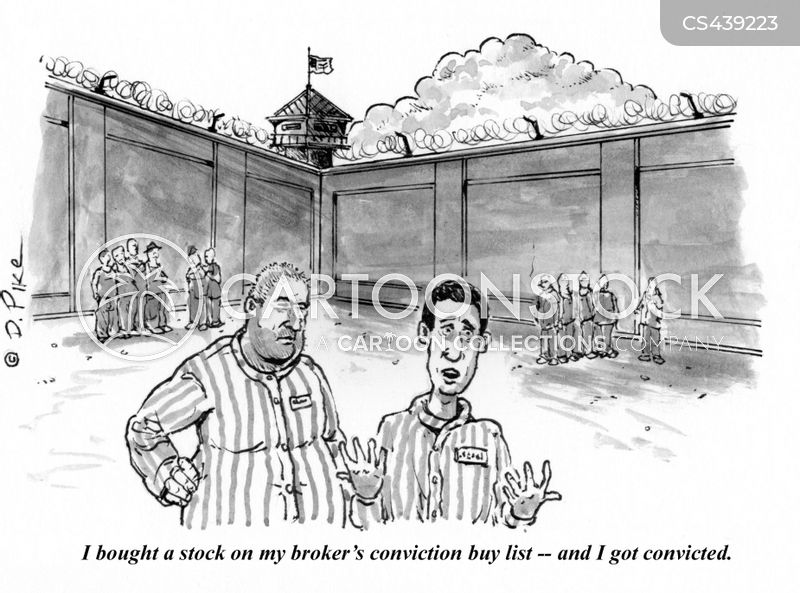 prison yard cartoon