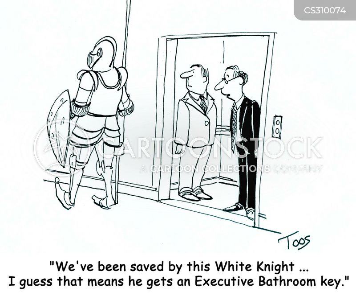 white knights cartoon