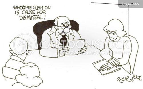 workplace rules cartoon