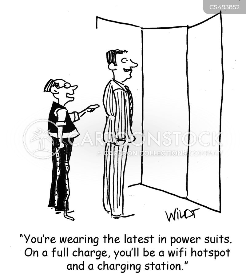 powersuits cartoon