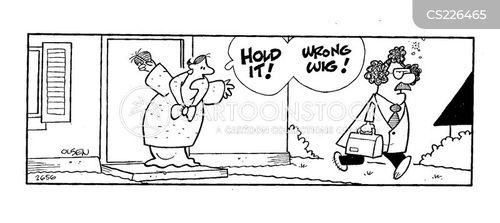 leaving for work cartoon