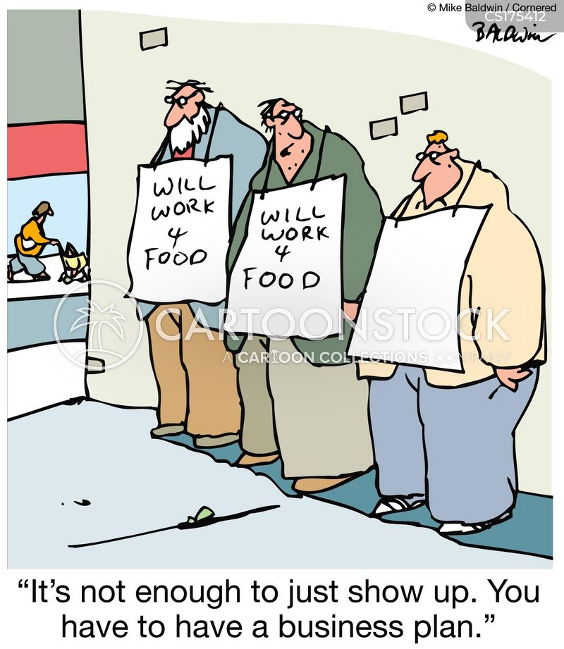 show up cartoon