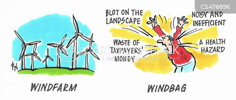 windbag cartoon