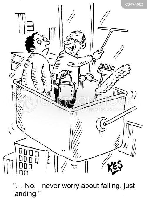window-cleaners cartoon