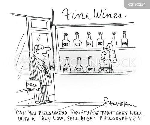 fine wines cartoon
