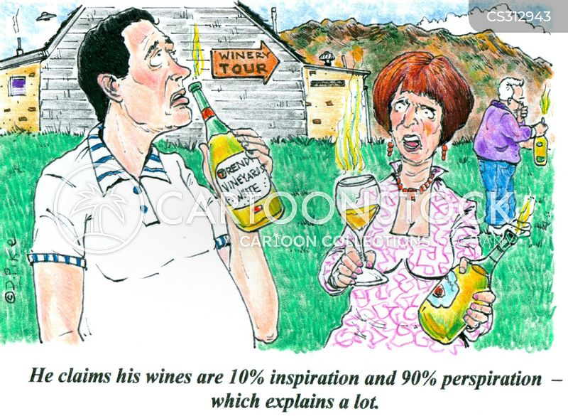 oenologist cartoon
