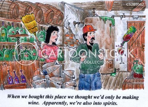 distill cartoon