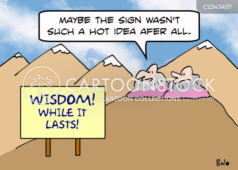 mountain gurus cartoon