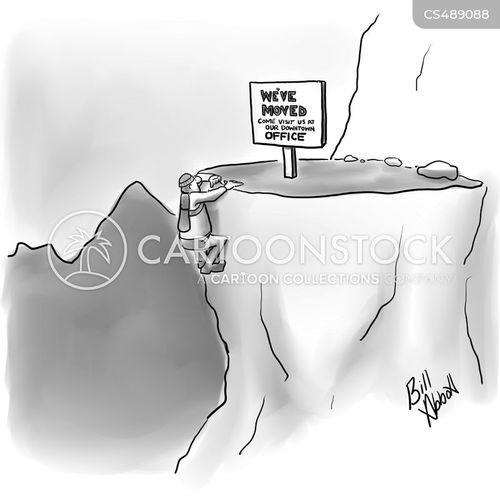 moving location cartoon