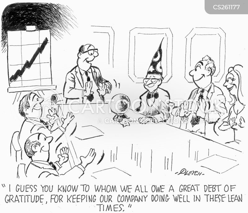 financial wizards cartoon