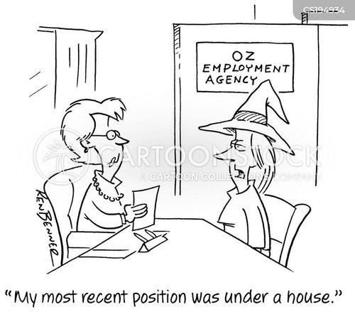 employment agency cartoon