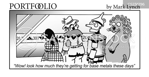 base metal cartoon