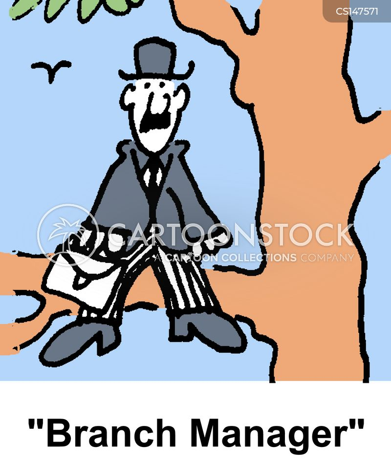 branch managers cartoon