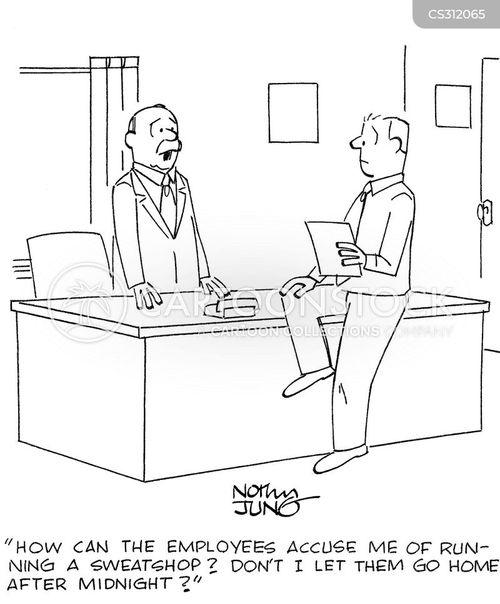 labor law cartoon