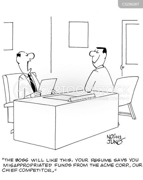 hirers cartoon