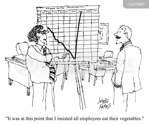 company profit cartoon