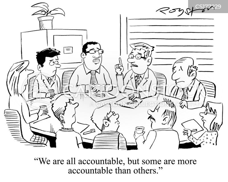 Image result for cartoon accountability