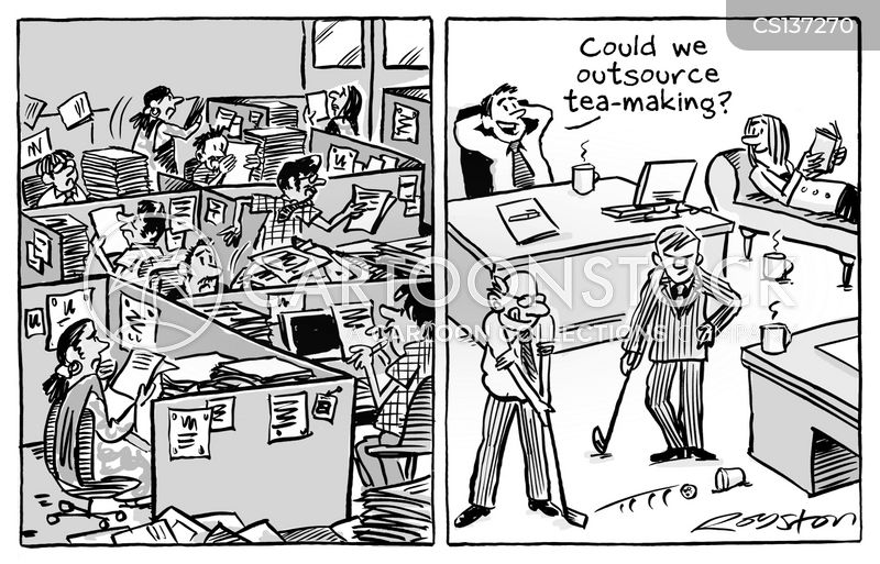 tea making cartoon