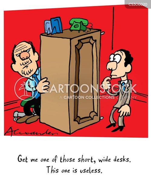 stupid bosses cartoon