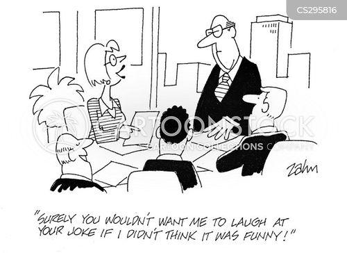 brownnose cartoon