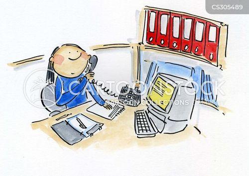 busy days cartoon