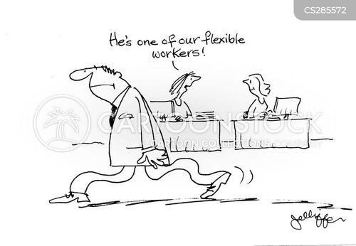 flexi time cartoon