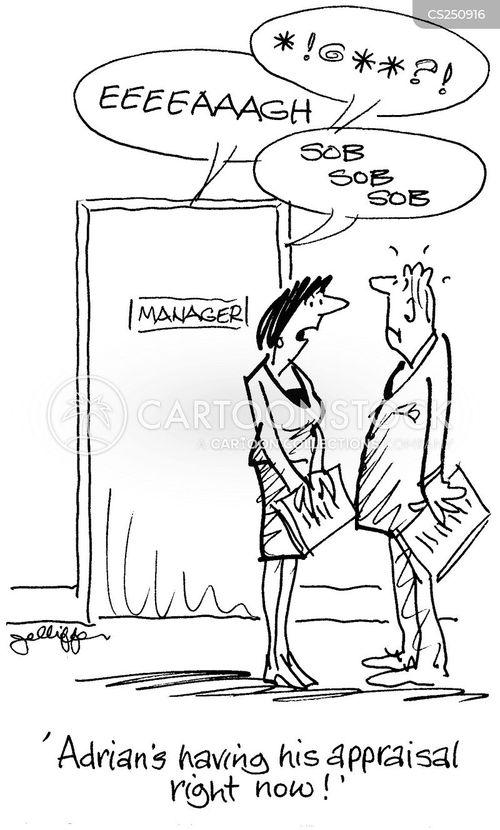 staff appraisals cartoon