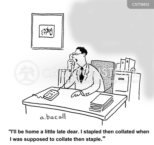 home late cartoon