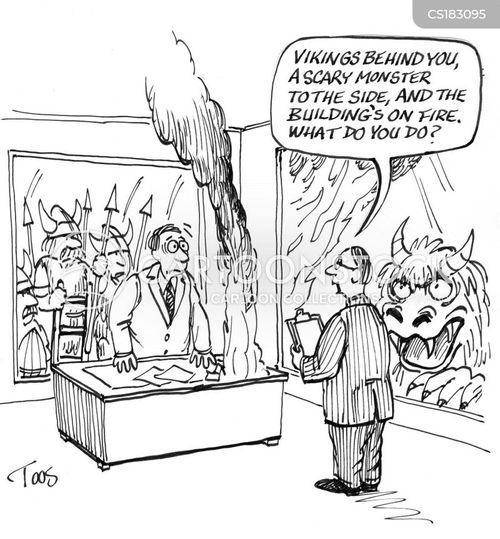 management training cartoon