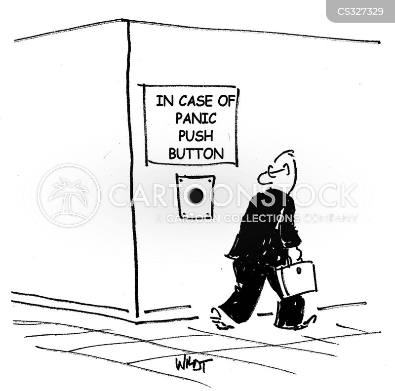 Panic Alarm Cartoons And Comics Funny Pictures From