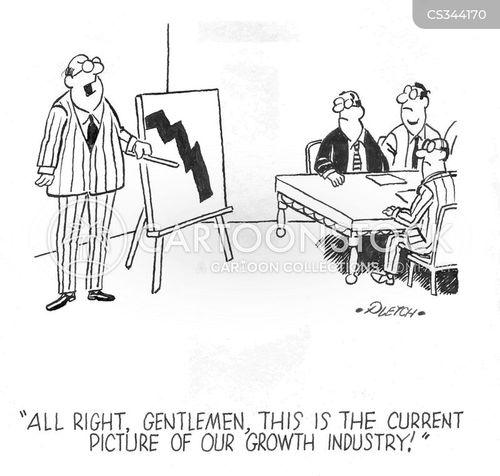 growth industry cartoon