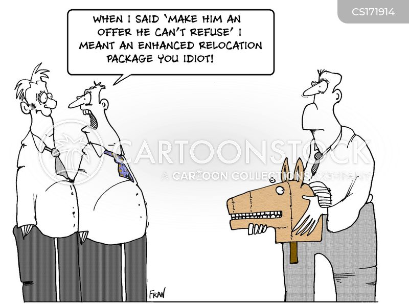 Job Offer Cartoons and Comics - funny pictures from CartoonStock