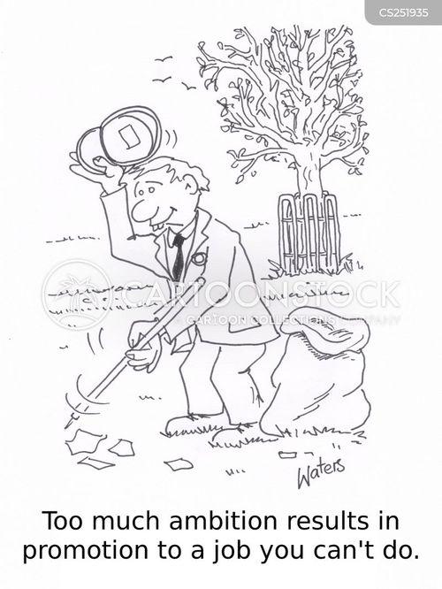 park keeper cartoon