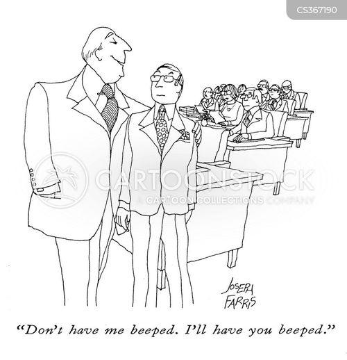 beeper cartoon